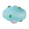 """Glass Bead Oval 10x15mm 8""""strg Aqua Matt"""